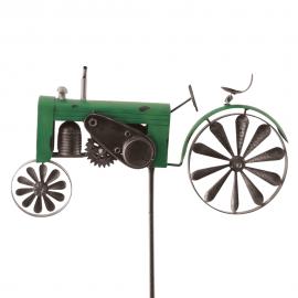 Traktor grün Windrad