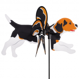 Hund Windrad